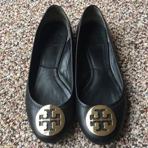 Tory Burch Black Flats 8